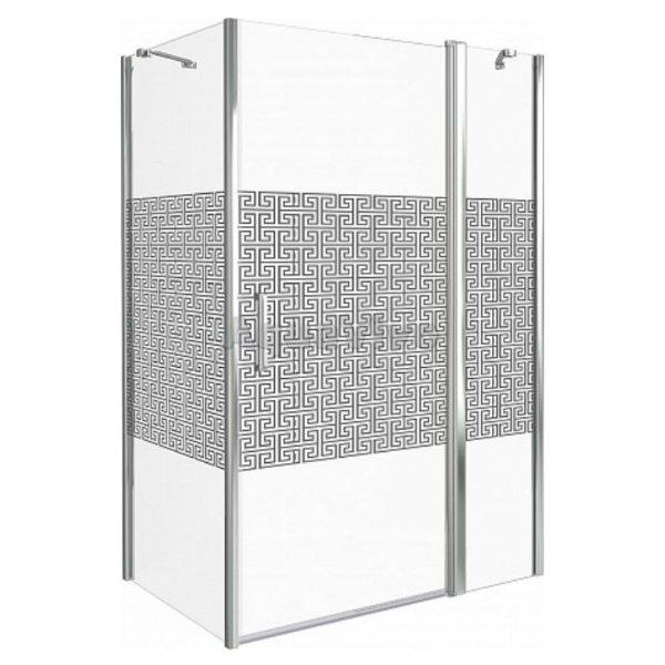 Душевой уголок Good Door Fantasy WTW+SP-F-CH 130x90 ванной комнаты без умывальника